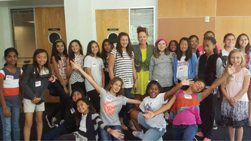 GLAM'16 Launches. Girls leadership camp teaches business skills in tech.